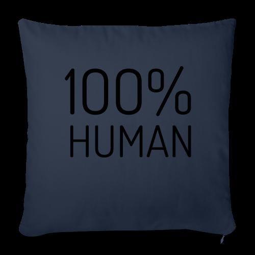 100% Human - Sierkussenhoes, 44 x 44 cm