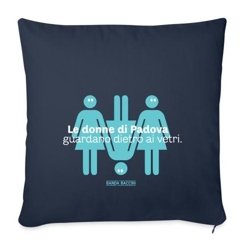 Le donne di Padova. - Copricuscino per divano, 44 x 44 cm