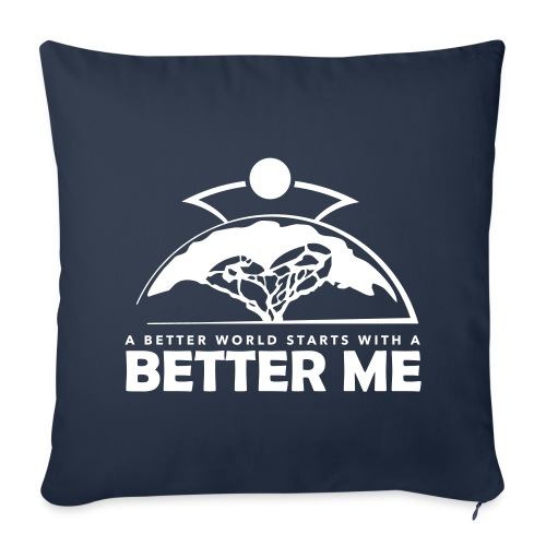 Better Me - White - Sofa pillow cover 44 x 44 cm