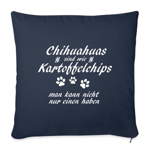 KartoffelchipsChihuahua - Sofakissenbezug 44 x 44 cm