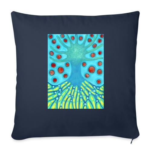 Drzewo I Planety - Poszewka na poduszkę 44 x 44 cm