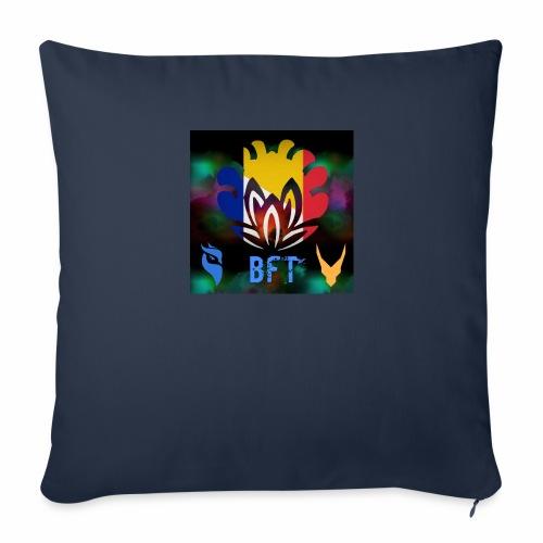 BFT - Housse de coussin décorative 44x 44cm