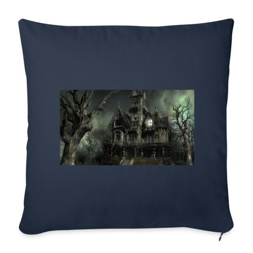 Casa embrujada - Funda de cojín, 44 x 44 cm