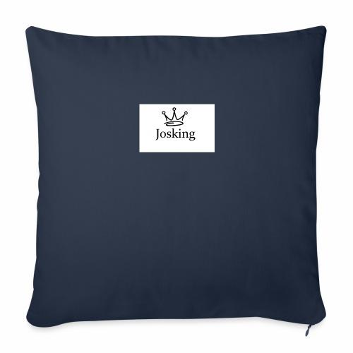 JOSKING Corona di un RE - Copricuscino per divano, 44 x 44 cm
