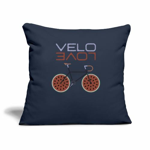 Melonen Bike Shirt Velo Love Shirt Rennrad Shirt - Sofakissenbezug 44 x 44 cm