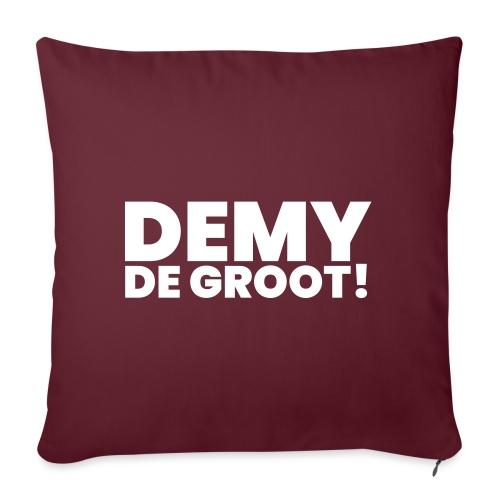 Demy de Groot! - Sierkussenhoes, 45 x 45 cm