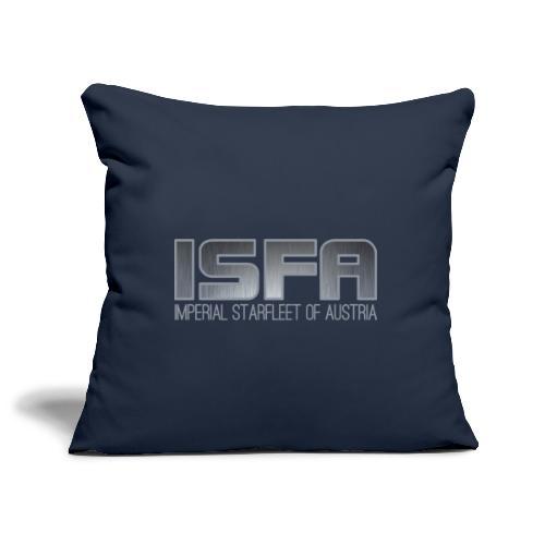ISFA Logo Abzeichen3 - Sofakissenbezug 44 x 44 cm