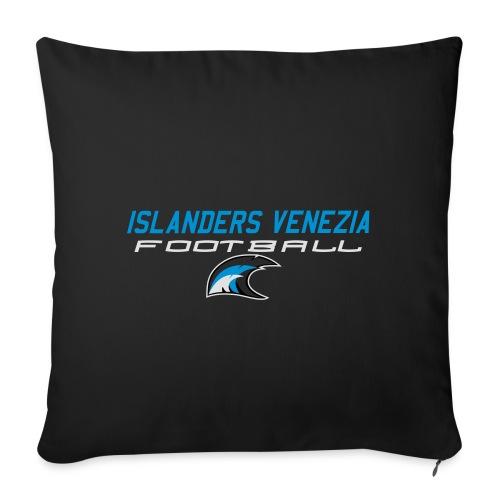 islanders football new logo - Copricuscino per divano, 45 x 45 cm