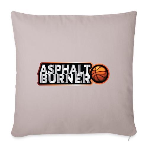 Asphalt Burner - for streetball players - Sofa pillowcase 17,3'' x 17,3'' (45 x 45 cm)