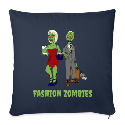Fashion Zombie - Sofa pillowcase 17,3'' x 17,3'' (45 x 45 cm)