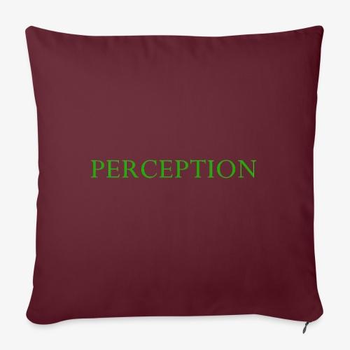 PERCEPTION CLOTHES VERT - Housse de coussin décorative 45x 45cm