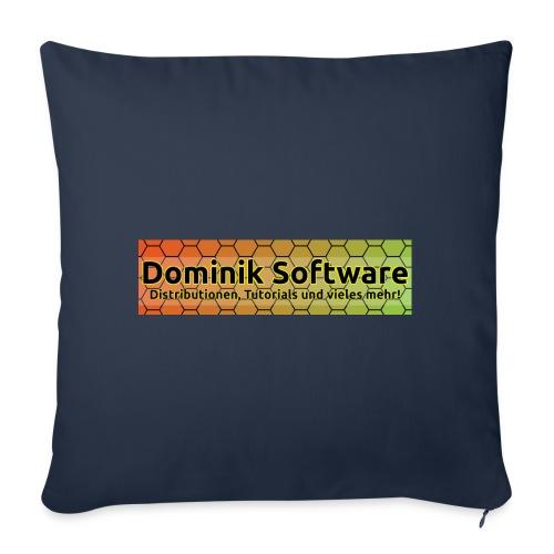 Dominik Software Banner - Sofakissenbezug 44 x 44 cm