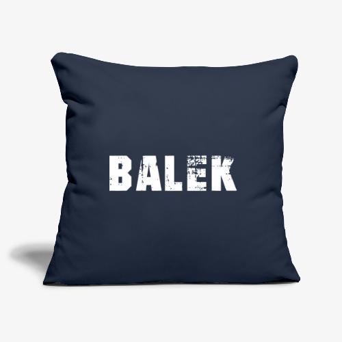 BALEK - Housse de coussin décorative 45x 45cm