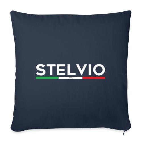 Stelvio con bandiera - Copricuscino per divano, 45 x 45 cm