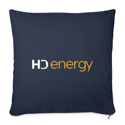 Wit Energy HD-logo - Sierkussenhoes, 45 x 45 cm