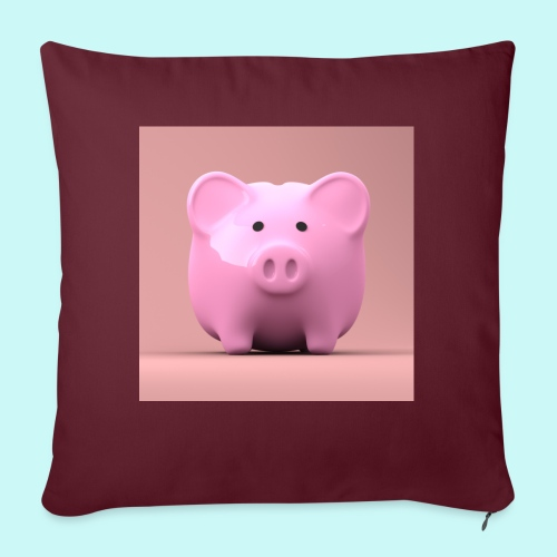 piggy - Sofa pillowcase 17,3'' x 17,3'' (45 x 45 cm)