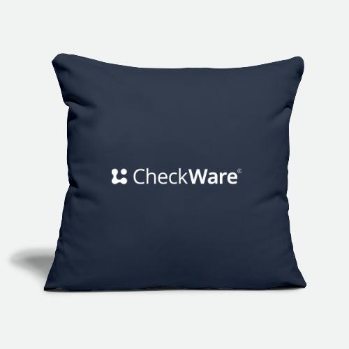 CheckWare white - Sofa pillowcase 17,3'' x 17,3'' (45 x 45 cm)