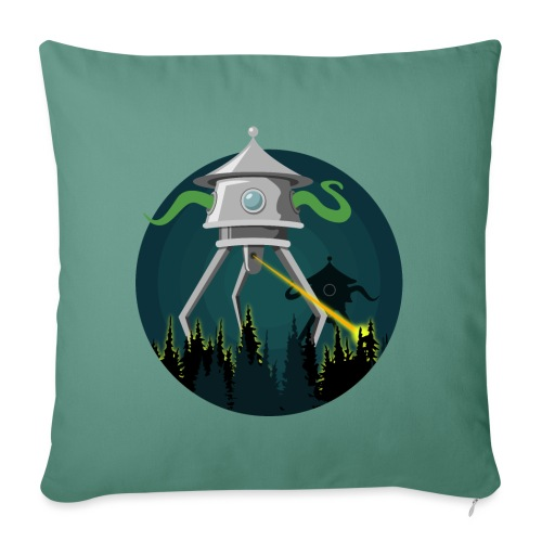 Aliens from The War of the Worlds - H. G. Wells - Copricuscino per divano, 45 x 45 cm