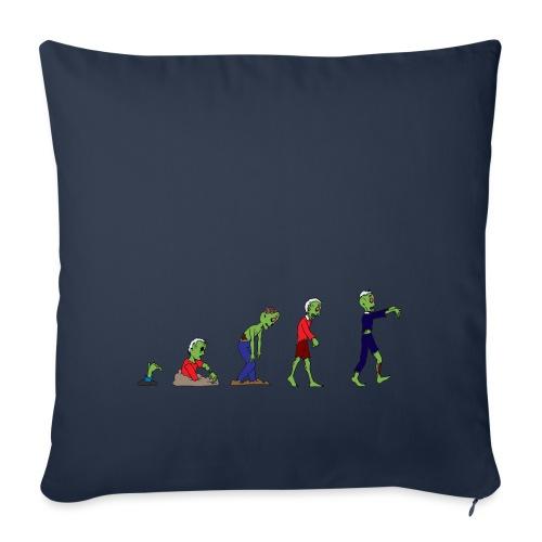 Zombie Evolution - Sofa pillowcase 17,3'' x 17,3'' (45 x 45 cm)