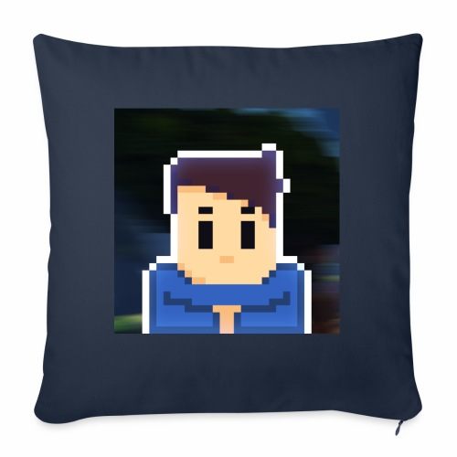 JoeWobbler Avatar with Background - Sofa pillowcase 17,3'' x 17,3'' (45 x 45 cm)