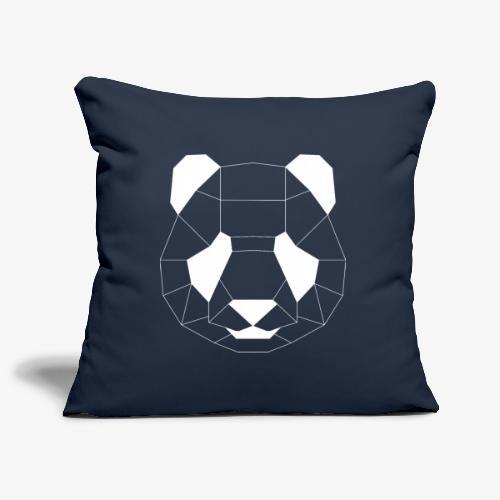 Panda Geometrisch weiss - Sofakissenbezug 44 x 44 cm