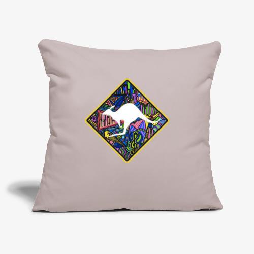 kangourou - Housse de coussin décorative 45x 45cm