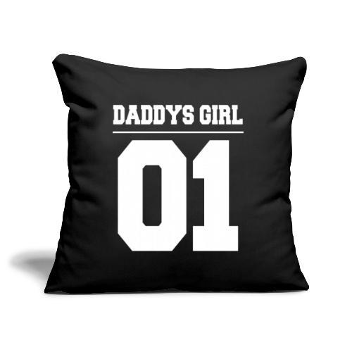Vater Tochter Partnerlook Daddys Girl 01 - Sofakissenbezug 44 x 44 cm