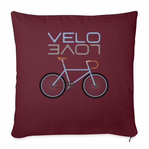 Rennrad Bike Shirt Velo Love Shirt Radfahrer Shirt - Sofakissenbezug 44 x 44 cm