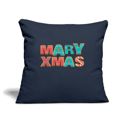 Mary Xmas - Maria Weihnachtsgeschenk - Sofakissenbezug 44 x 44 cm