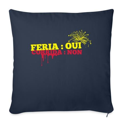 feria - Housse de coussin décorative 45x 45cm