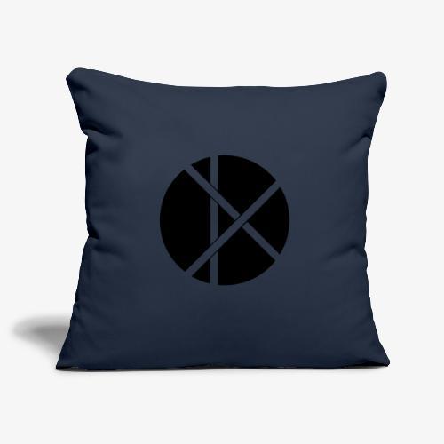 Don Logo - musta - Sohvatyynyn päällinen 45 x 45 cm