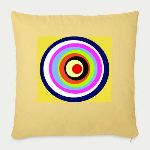 Maske Kreisende Farben - Sofakissenbezug 44 x 44 cm