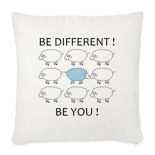 be-different-be-you-t-shi - Housse de coussin décorative 45x 45cm