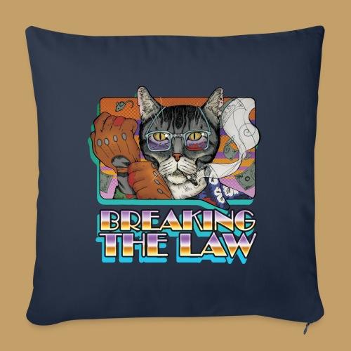 Crime Cat- Breaking the Law - Poszewka na poduszkę 45 x 45 cm