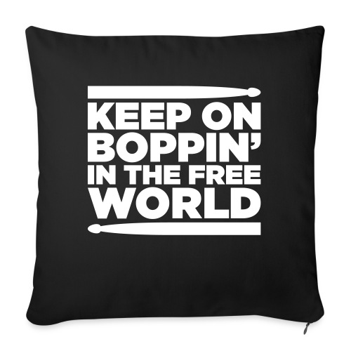 Keep on Boppin' - Sofa pillowcase 17,3'' x 17,3'' (45 x 45 cm)