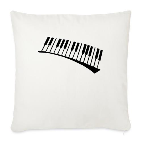 Piano - Funda de cojín, 45 x 45 cm