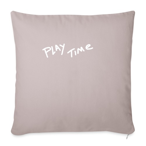 Play Time Tshirt - Sofa pillowcase 17,3'' x 17,3'' (45 x 45 cm)