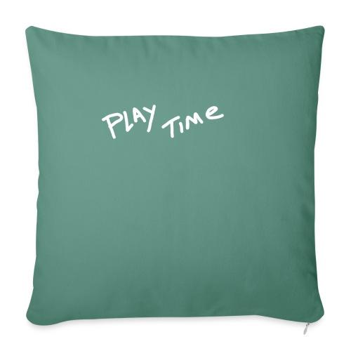 Play Time Tshirt - Sofa pillowcase 17,3'' x 17,3'' (45 x 45 cm)