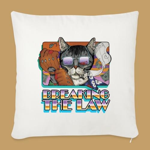 Crime Cat in Shades - Braking the Law - Poszewka na poduszkę 45 x 45 cm