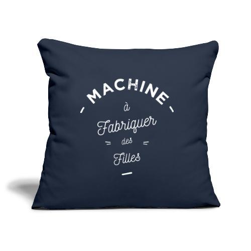 Machine à filles - Housse de coussin décorative 45x 45cm