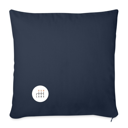 esrlabs_standard_logo - Sofa pillowcase 17,3'' x 17,3'' (45 x 45 cm)