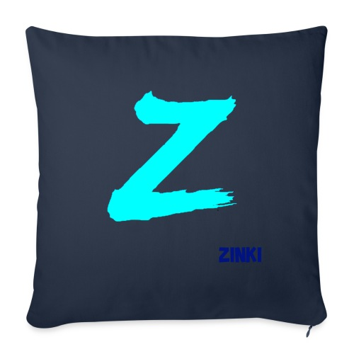 ZINKI LOGO - Sofa pillowcase 17,3'' x 17,3'' (45 x 45 cm)