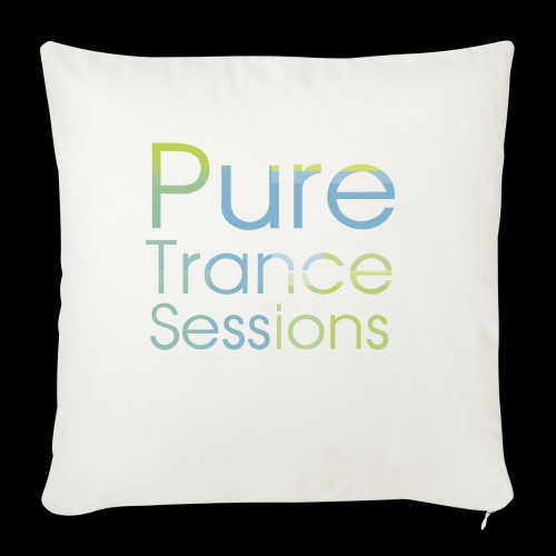 PureTrance100 transparantGROOT kopie png - Sofa pillowcase 17,3'' x 17,3'' (45 x 45 cm)