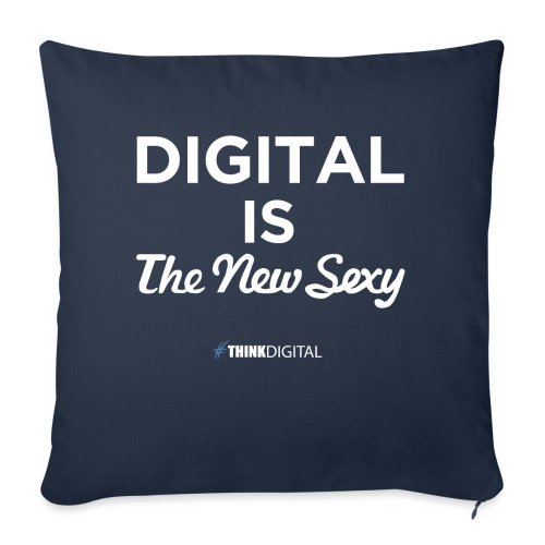 Digital is the New Sexy - Copricuscino per divano, 45 x 45 cm