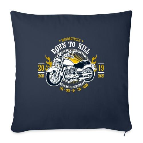 Motorcycle1 - Funda de cojín, 45 x 45 cm