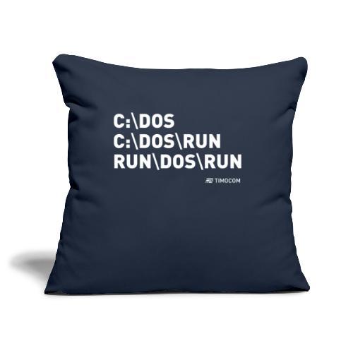 Run DOS Run - Pudebetræk 45 x 45 cm