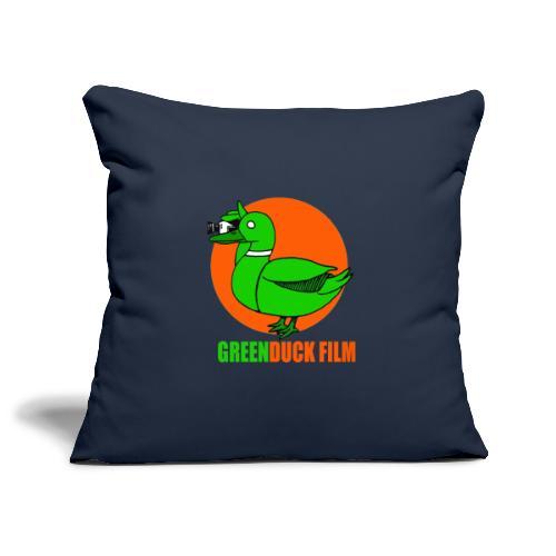 Greenduck Film Orange Sun Logo - Pudebetræk 45 x 45 cm