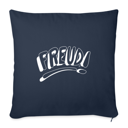 Freud! - Funda de cojín, 44 x 44 cm