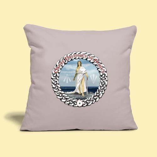 Ordre Druidique de Dahut Logo - Housse de coussin décorative 45x 45cm
