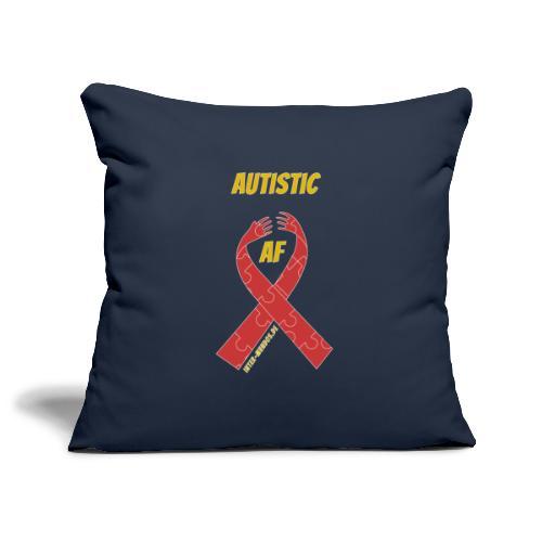 Autistic as F*** - Sofakissenbezug 44 x 44 cm